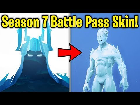 Season 7 New Battle Pass Skin Snow Map First Look Teased In