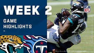 Jaguars vs. Titans Week 2 Highlights   NFL 2020