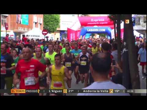 Carrera Correos Express Sant Adrià de Besòs TV3
