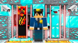 Trapped in Minecraft Diamond Prison with Skeppy!