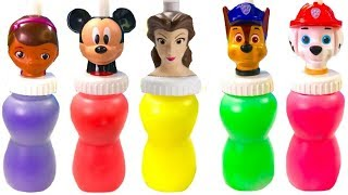 Best Learning Colors Video for Children Slime Surprise Paw Patrol Doc McStuffins | Fizzy Fun Toys
