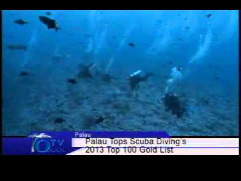 Palau Tops Scuba Diving's 2013 Top 100 Gold List