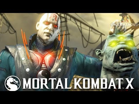Mortal Kombat X : All Quan Chi's brutalities & fatality found in the