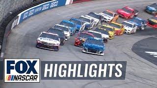 Bass Pro Shops NRA Night Race at Bristol | NASCAR on FOX HIGHLIGHTS