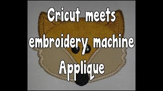 Crciut Applique In Design Space With Your Embroidery Machine
