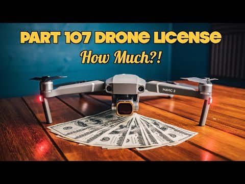 THE FAA PART 107 UAS DRONE LICENSE COSTS HOW MUCH ...