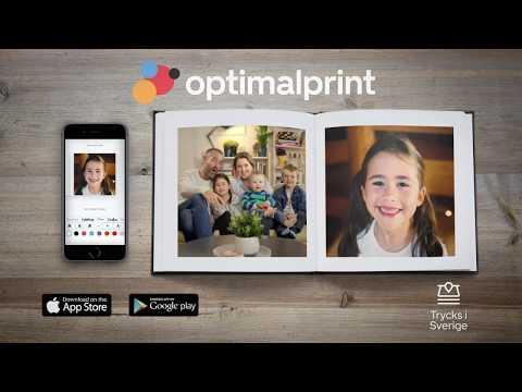 55% rabatt hos Optimalprint: personliga fotoböcker, kort, kalendrar
