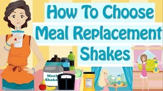 Meal Replacement Shakes For Quick Weight Loss + Best Weight Loss Shakes