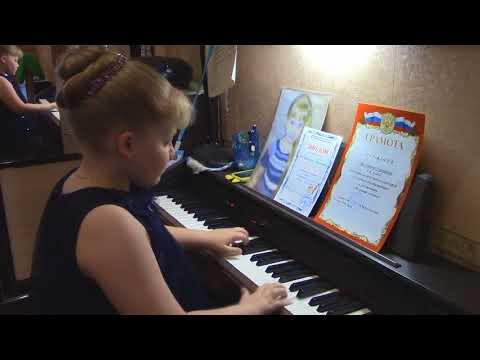 """Музыкальная минутка на канале\ Музыкальное произведение""""Сонатина."""" М.Клементи..\Исполняет Серафима."""
