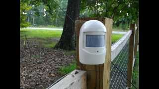 Home Security on a Budget Motion Sensors from Harbor Freight