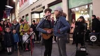 Allie Sherlock Raps During 'Girls Like You' With Padraig Cahill (Maroon 5)