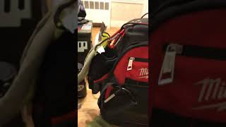 Milwaukee jobsite bag review -electrician's bag