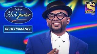 Benny Dayal Rocks The Stage With The Bang Bang Song!   Indian Idol Junior 2