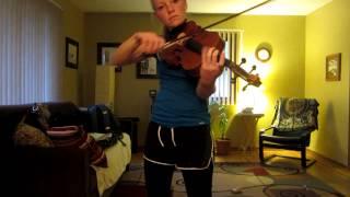 "Zac Brown ""Who Knows"", Rachel on Viola"