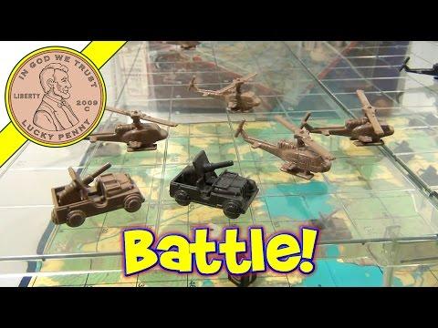 Chopper Strike Board Game #4612, 1976 Milton Bradley