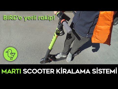 MARTI Elektrikli Scooter Kiralama Sistemi İncelemesi
