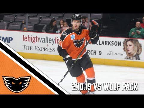 Wolf Pack vs. Phantoms | Feb. 10, 2019