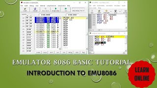 EMU8086 BASIC Tutorial    8086 MICROPROCESSOR EMULATOR Tutorial For Absolute Beginners  Emulator8086