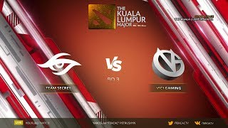 [RU] Team Secret vs Vici Gaming   Bo3   The Kuala Lumpur Major