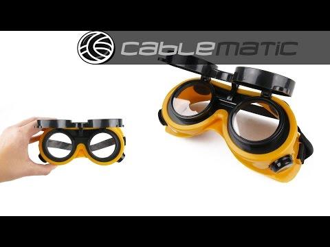 Gafas de protección para soldadura de herramientas Tolsen® distribuido por CABLEMATIC ®