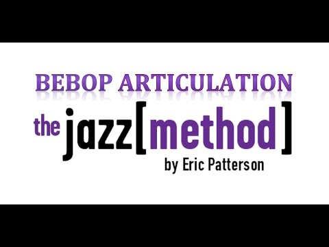 A brief introduction to an advanced jazz concept of articulation.