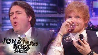 Ed Sheeran Singing Badly - The Jonathan Ross Show