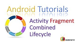 #104 Android Activity Fragment Combined Lifecycle: Android Tutorials [HD 1080p]