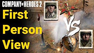 COH2 FPV Jaeger Infantry vs Heavy Cavalry