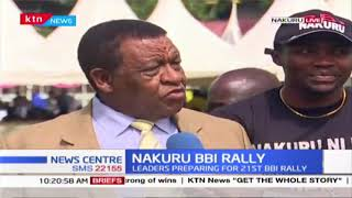 Nakuru leaders hold meeting in preparation for 8th edition of BBI rally