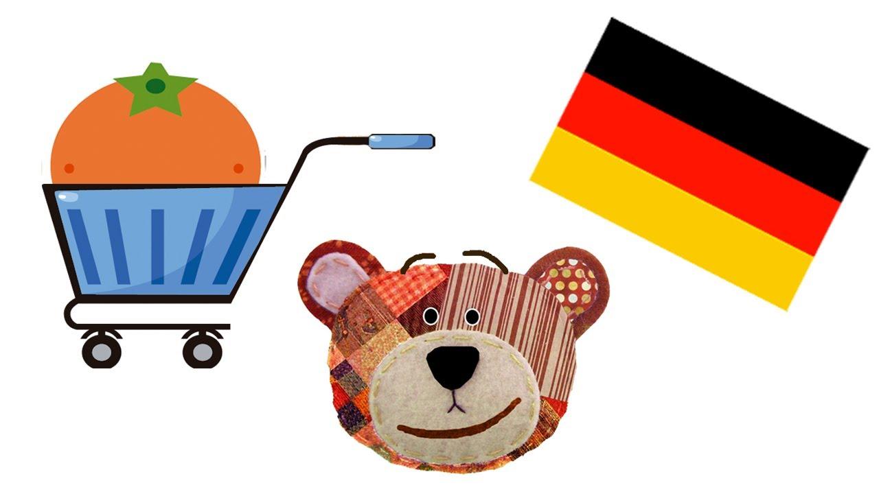 Frutas en alemán - Idiomas para niños