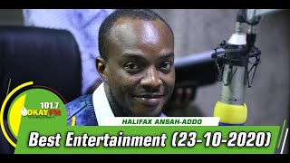 Best Entertainment With Halifax Addo on Okay 101.7 Fm (21/10/2020)