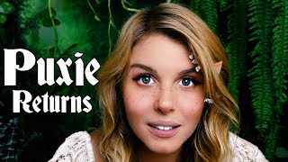 Puxie the Elf Returns/ASMR Fantasy Role-Play/Soft Spoken, Personal Attention RP/ Rain, Forest Sounds