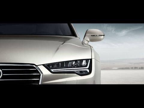 New Audi A7 (2015) Matrix LED Licht - dynamischer Blinker