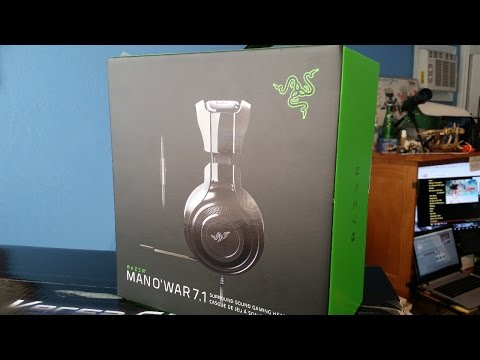 Razer Headset Review and Unboxing - Black Friday Edition - EPIC!