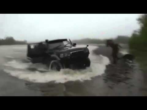 UAZ per cacciare e pescare in Krasnoyarsk