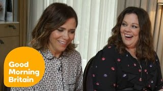 Kristen Wiig And Melissa McCarthy Have Each Other In Stitches! | Good Morning Britain