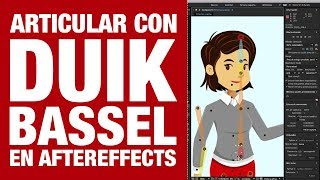 Simple Head Rig with Duik Bassel | After Effects Character