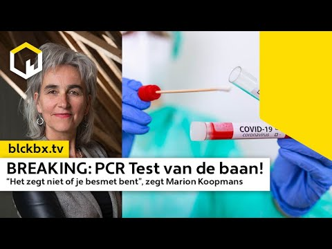 BREAKING: De PCR Test van de baan!