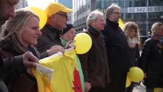 preview picture of video 'No Subsidies for Nuclear Power! Demonstration in Brussels'