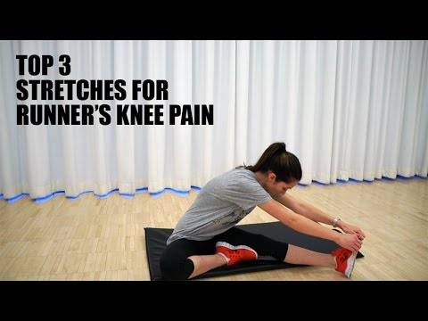Video Top 3 Stretches for Runner's Knee Pain Relief