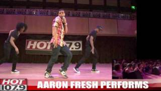 SSS :: AARON FRESH PERFORMS