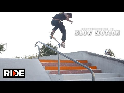 Tre Williams - Skateboarding in Slow Motion
