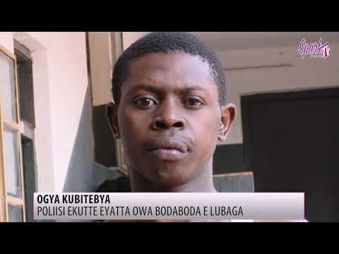 Poliisi ekutte omuvubuka eyalabikira mu katambi nga atta owa boda boda e Lubaga
