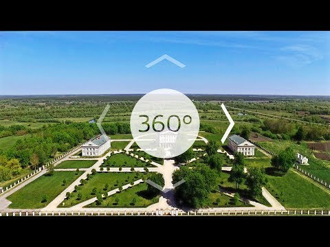 Батуринский дворец Разумовского. Моя страна 360