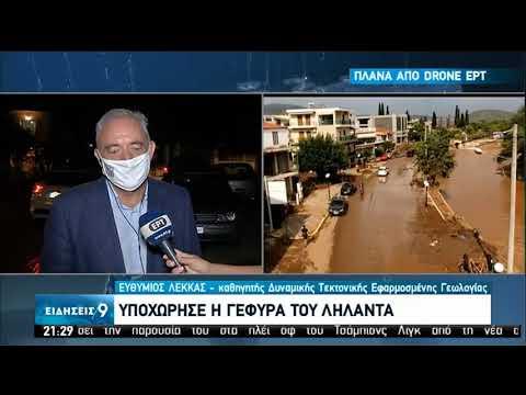 Τοπίο καταστροφής στην Εύβοια – Ποιες οι αιτίες –Ο Ευθ. Λέκκας εξηγεί στην κάμερα της ΕΡΤ | 09/08/20