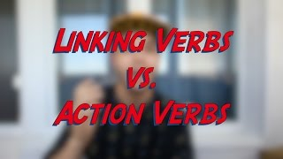 Linking Verbs vs. Action Verbs - Learn English online free video lessons