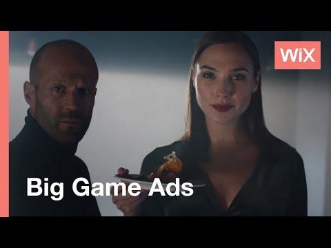 WIX.com commercial