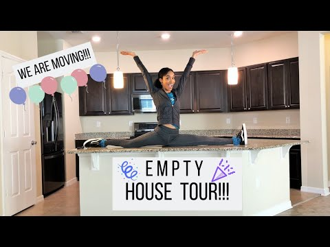 WE ARE MOVING!! // EMPTY HOUSE TOUR 2019 // Jessica Tull