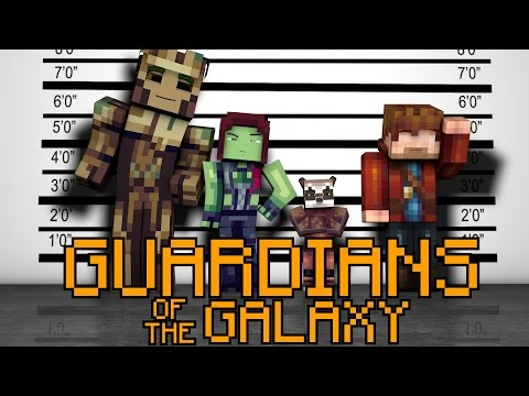 Minecraft Parody - GUARDIANS OF THE GALAXY! - (Minecraft Animation)