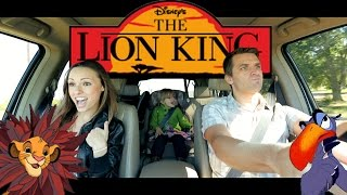 "Good Looking Parents Sing Disney's Lion King ""I Just Can't Wait to Be King."""